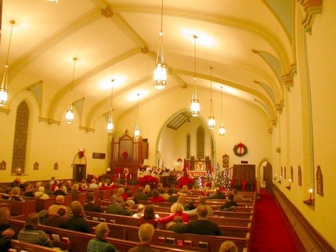 Interior of St. Lukes