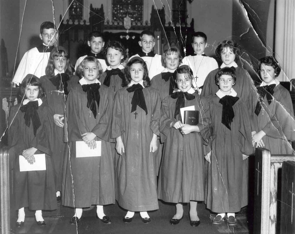 Junior Choir Circa 1963