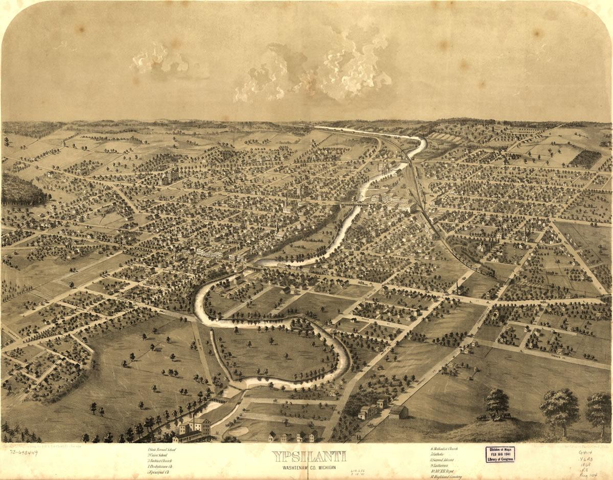 Early Ypsilanti and Washtenaw County