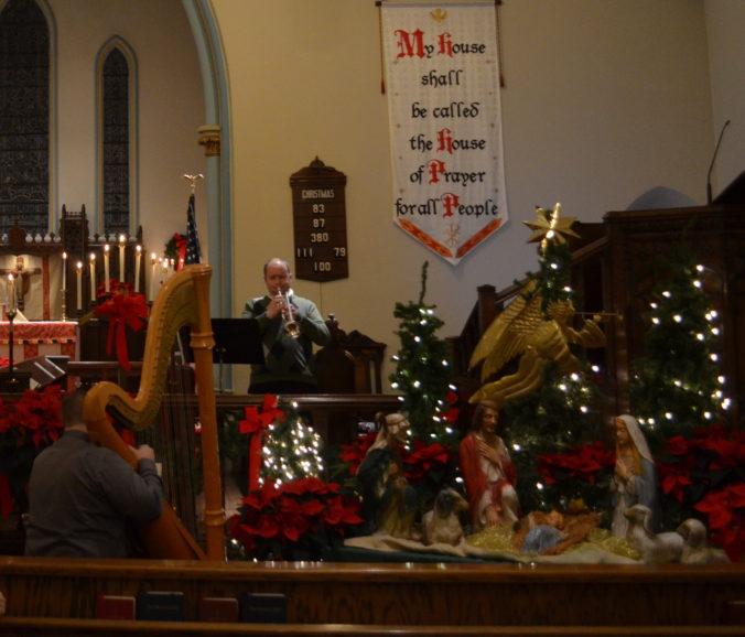 Christmas Musicians St Lukes