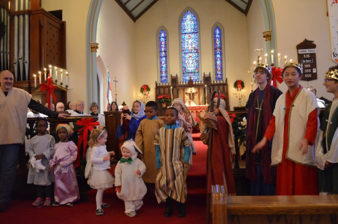 Christmas Pageant St Lukes